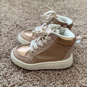 Glitter High Top Sneakers